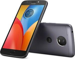 NEW Motorola Moto E4+ Plus 16GB Sprint Network Smart Phone Iron Gray Android