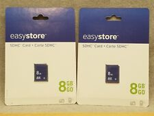 MIP EasyStore SDHC 8 GB Memory Card Set Of 2