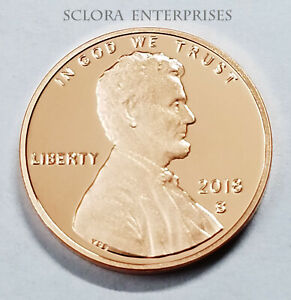 2018 S LINCOLN SHIELD *PROOF* CENT / PENNY  **FREE SHIPPING**