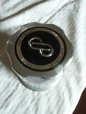 "Enkei Wheel Center Cap SS Brushed 4"" diameter NEW rim middle slide thru"