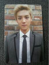 EXO M LUHAN Official PHOTOCARD 1st Repackage A Ver Growl Korea Ver Photo Card 루한