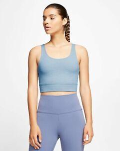 Nike Yoga Luxe Women's Dri-FIT Infinalon Crop Top Size Small (4-6) CV0576 NWT