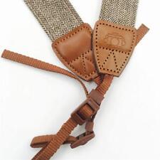 Novel Adjustable Cotton Leather Camera Shoulder Neck Strap For SLR Cameras