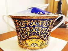 VERSACE China, Rosenthal Germany MEDUSA - BLUE Covered Soup Tureen  Bowl - NEW!