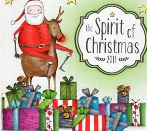 SPIRIT OF CHRISTMAS 2014 CD Harrison Craig Dami Im Wiggles Troy Casser-Daley