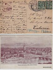 # TORINO: FABBRICA IT. RECIPIENTI INESPLODIBILI (pubblicitaria al verso)  1914