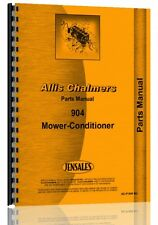 Allis Chalmers 904 Mower Conditioner Parts Manual