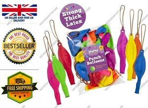 """jaunty partyware 25 Large Punch Balloons for Kids Ideal Party Bag Fillers 12"""" UK"""