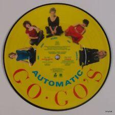 Go Gos - Automatic/Tonite 45RPM Picture Disc single on vintage vinyl, NM-
