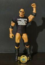 WWE Mattel Elite The Rock Wrestling Figure