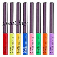 NYX Cosmetics Vivid Brights Liner _New in Pack_ Pick Any Shade from 9 Colors !!!