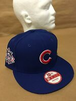 New Era 9FIFTY Chicago Cubs Baycik Snap Royal OSFA Snapback Original Fit