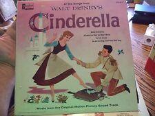 Cinderella 1959 Disneyland Walt Disney Lp Record Bibbidi Bobbidi Boo