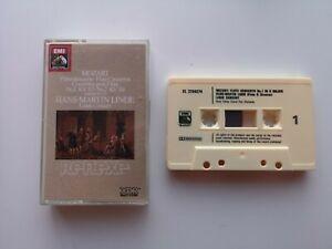 HMV/EMI EL 2704274. Mozart Flute Concertos. Hans-Martin Linde Cassette.