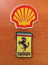 Ferrari Shell Patch Originali