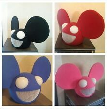 Custom deadmau5 wireless remote controlled LED Halloween mask