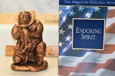 Enduring Spirit 911 Fire Fighter Tribute Figurine Statue