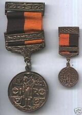 MINITURE IRISH WAR OF INDEPENDENCE BLACK & TAN MEDAL