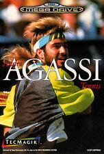 ## SEGA Mega Drive - Andre Agassi Tennis - TOP / MD Spiel ##