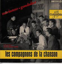 45TRS VINYL 7''/ FRENCH EP COMPAGNONS DE LA CHANSON / GONDOLIER + 3 / SALVADOR