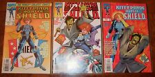 Kitty Pryde Agent of Shield Miniseries Marvel 1997 1 2 3 Wolverine X-Men