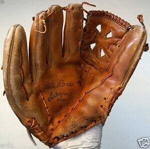 Vintage MacGregor KPR PETE ROSE Autograph Personal Model Left Baseball Glove