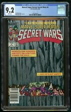 SECRET WARS (1984) #4 CGC 9.2 NEWSSTAND EDITION WHITE PAGES