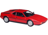 Welly 1:24 BMW M1 Red Diecast Model Car Vehicle New in Box