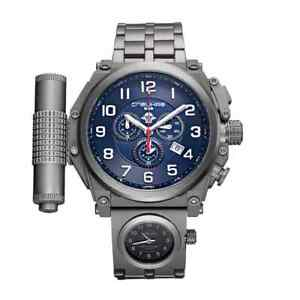 Relojes de Pulsera Speznas 5 Elementos Paracaidista Chrono C9150338- 513-Titan