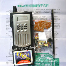 Electronic Intercom kit Hand Radio Walkie - Talkie Learning Training Suite DIY