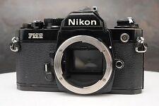 : Nikon FM2N FM2 N 35mm Film SLR schwarz Kamera Body-gestautes Verschluss