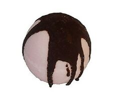 Chocolate Covered Strawberry Bubble Bath Bomb, Safe, Natural, Made in the U.S.A.