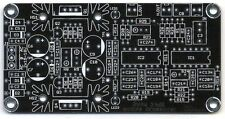 Active 2way Crossover Filter with Power Supply PCB DIY NEW