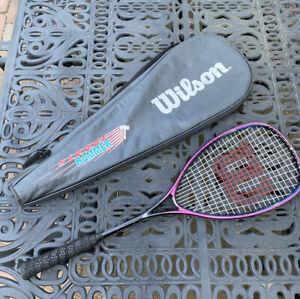 Wilson Sledge Hammer 135 Oversized Squash Racquet - Needs New Grip. Bag Case