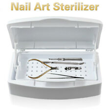 New Nail Art Sterilizer Tray Box Alcohol Ether Salon Disinfection Equipment Tool
