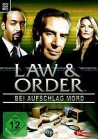 Law & Order - Bei Aufschlag Mord für Pc Neu/Ovp