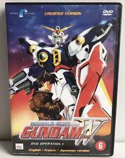 Mobile Suit Gundam Wing DVD Operation 1 , anime , Dutch Subtitles.