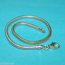 6 pcs Sterling Silver 925 Baby Kids size BRACELETS Lot fit EUROPEAN Charm Beads