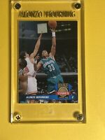 1992-93 Upper Deck Rookie Standouts Alonzo Mourning RC Engraved Case! #RS2