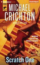 SCRATCH ONE unabridged audio book on CD by MICHAEL CRICHTON - Brand New!