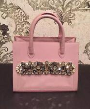 Gedebe Shopper Mini Handbag , Nude Pink Color, #7021