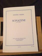 Eugène Bozza Sonatine pour flûte et basson partition éditions Leduc