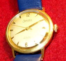 Vergoldete mechanische Armbanduhren (Handaufzug) mit 12-Stunden-Zifferblatt