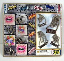 Glitz Jewelry Rings Necklace Sticker Gumball Vending Machine Disp Card Toys #60
