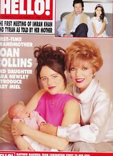 JOAN COLLINS - IMRAN KHAN -  British HELLO! Magazine October 31st 1998 C#31