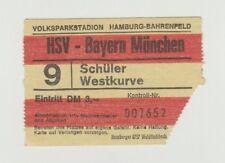 Orig.Ticket  1.BL / Bundesliga  1972/73  HAMBURGER SV - BAYERN MÜNCHEN !! SELTEN