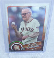 2015 Topps Baseball First Pitch Writer Stan Lee Card #FP-21 SPIDER MAN