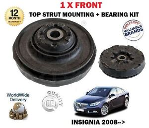 FOR VAUXHALL OPEL INSIGNIA 2008-> NEW 1 X FRONT TOP STRUT SHOCKER MOUNTING KIT