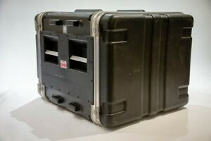 SKB Flightcase Rack DoubleDoor 8HE mit Federung, sehr stabil, gebraucht