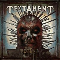 TESTAMENT Demonic BANNER HUGE 4X4 Ft Fabric Poster Tapestry Flag album cover art